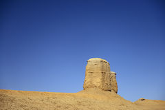 The devil city in xinjiang Royalty Free Stock Images