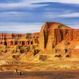The devil city in xinjiang China Stock Images