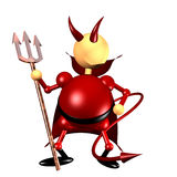 Devil clipart royalty free stock photo