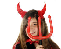 She-Devil Closeup Royalty Free Stock Photography