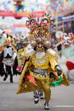 Devil Dancer at Oruro Carnival in Bolivia Royalty Free Stock Photography