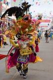 Devil Dancer at Oruro Carnival in Bolivia Stock Image