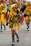 Devil Dancers at Oruro Carnival in Bolivia Stock Photo