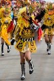 Devil Dancers at Oruro Carnival in Bolivia Stock Photo