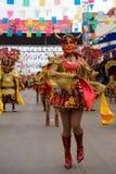 Devil Dancers at Oruro Carnival in Bolivia Royalty Free Stock Photo