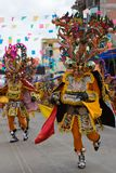 Devil Dancers at Oruro Carnival in Bolivia Stock Photography