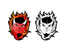 DEVIL / DEMON MASCOT Royalty Free Stock Photography