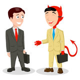 Devil in Disguise Stock Images