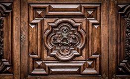 Devil Door in Turin, Italy Royalty Free Stock Image