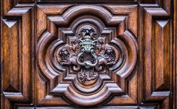 Devil Door in Turin, Italy Royalty Free Stock Images