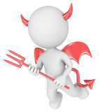 The devil. Royalty Free Stock Photos