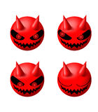 Devil expression Stock Images
