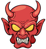 Devil face Royalty Free Stock Image