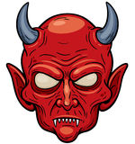 Devil face Stock Photo