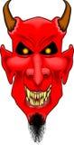 Devil_face2 Foto de archivo libre de regalías