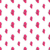 Devil FaceDevil Face Character Illustration Pattern Character Il Stock Photo