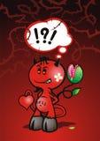Devil Flower vector illustration