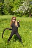 Devil girl Royalty Free Stock Photography