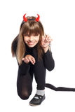 Devil girl Royalty Free Stock Photos