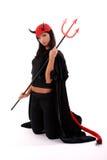 Devil girl stock photos