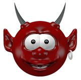 Devil head Royalty Free Stock Image