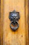 Devil Head Door Knocker Royalty Free Stock Photo