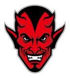 Devil head mascot Stock Photography