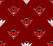 Devil Head Pattern Stock Images