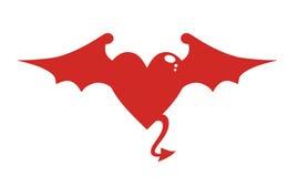 Devil heart Stock Images