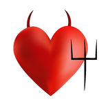 Devil Heart Stock Images