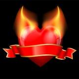 Devil heart Stock Image