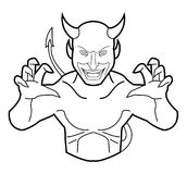 Devil. Illustrator design .eps 10 Royalty Free Stock Images