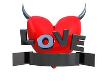 Devil love Royalty Free Stock Photos