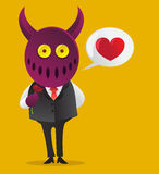 Devil Love Royalty Free Stock Photography