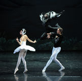 The devil  Luo Tebaerde-ballet Swan Lake Royalty Free Stock Photography