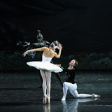 The devil  Luo Tebaerde-ballet Swan Lake Royalty Free Stock Images