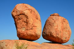 Devil marbles Stock Images