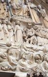 Devil on Notre dame de Paris Stock Images