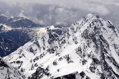 Devil peak west face, Orobie, Italy Royalty Free Stock Photography