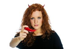 Devil Pepper Royalty Free Stock Photography