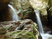 Devil-pit Waterfalls in the Bakony Stock Photo