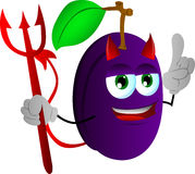 Devil plum with attitude Stock Photography