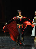 The devil Rothbart-The prince adult ceremony-ballet Swan Lake Stock Photo
