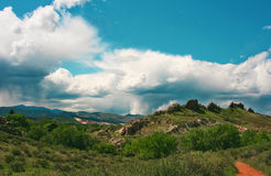 Devil`s Backbone in Loveland, CO Stock Photography