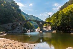 The Devil's Bridge- Ardino, Bulgaria Royalty Free Stock Photo