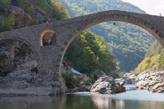 The Devil's Bridge- Ardino, Bulgaria Royalty Free Stock Images