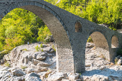 The Devil's Bridge- Ardino, Bulgaria Royalty Free Stock Photos