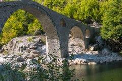The Devil's Bridge- Ardino, Bulgaria Stock Images