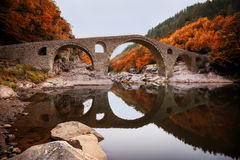 The Devil's bridge, Bulgaria stock image