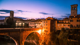 Devil's bridge of Cividale del Friuli Royalty Free Stock Photos